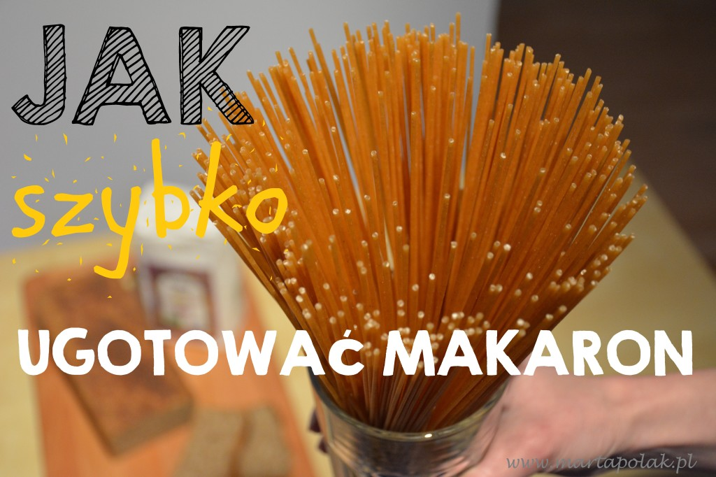 Jak szybko ugotować makaron, ryż i kaszę