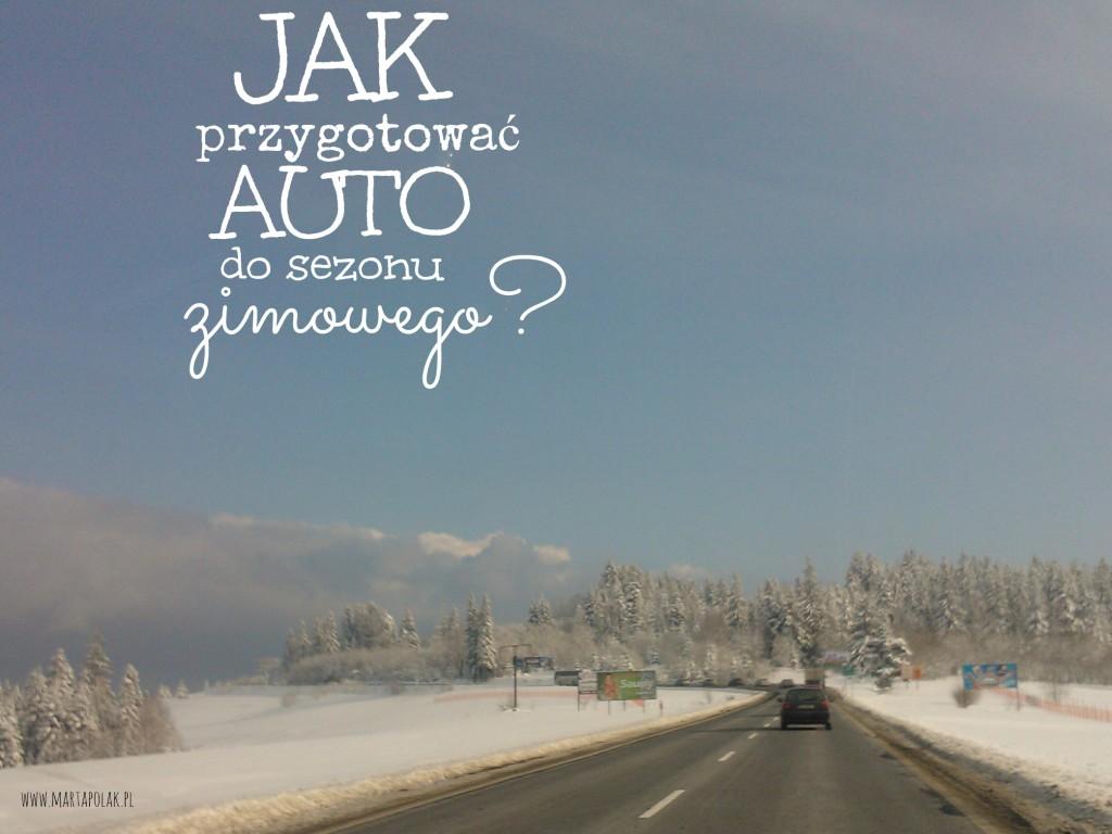 Jak przygotować auto na zimę
