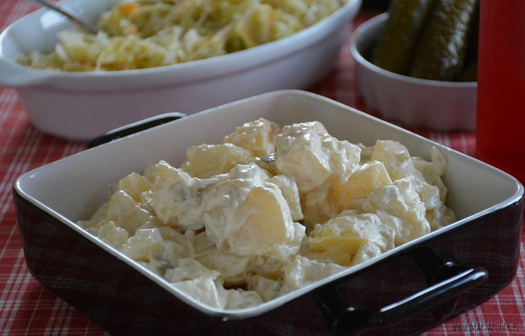 przepis na najlepszą sałatkę kartoflaną