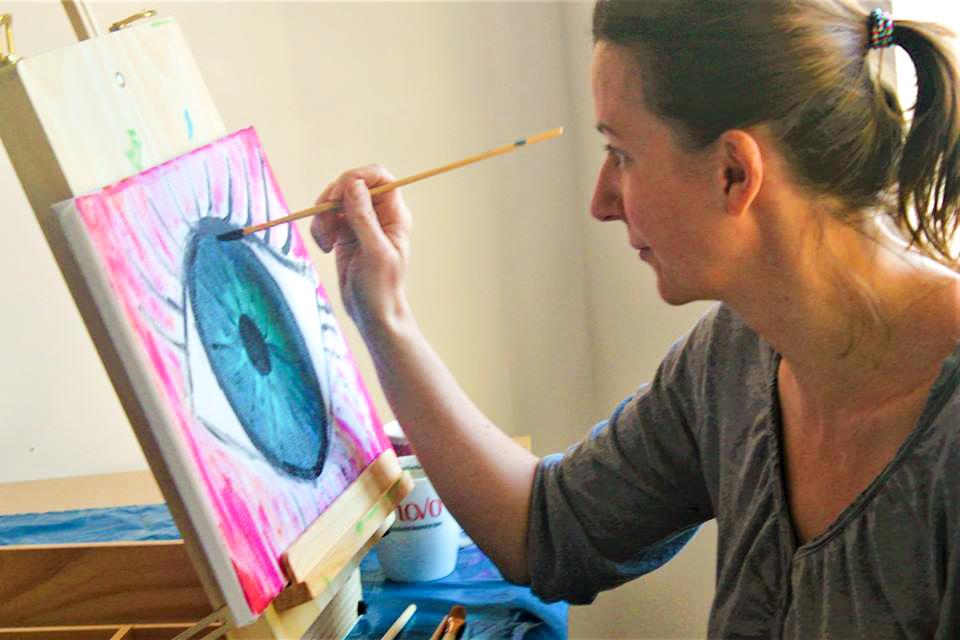 Malowanie - Sposoby na chandrę jesienią